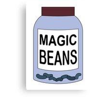 Magic Beans Canvas Print