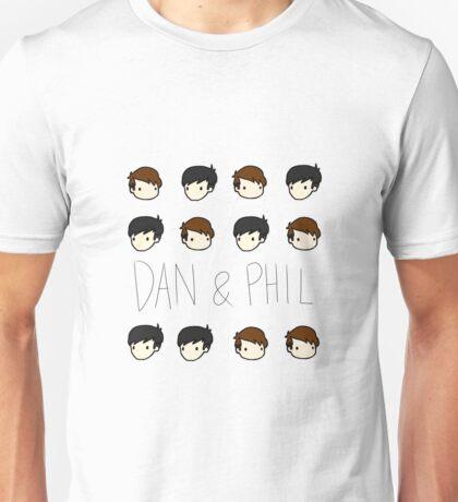 Dan and Phil Pattern Unisex T-Shirt
