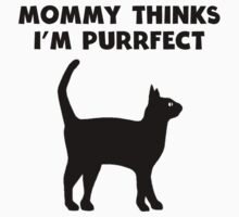 My Mommy Thinks I'm Purrfect Baby Tee