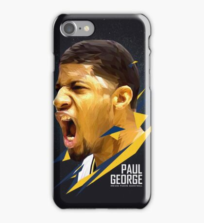 Paul George Art Work iPhone Case/Skin