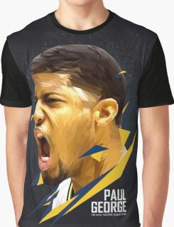 Paul George Art Work Graphic T-Shirt