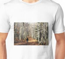 Lovely fall walk Unisex T-Shirt