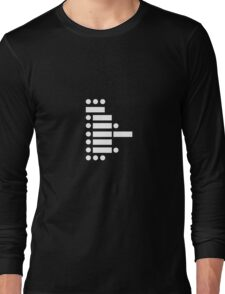 star wars (in morse code) Long Sleeve T-Shirt