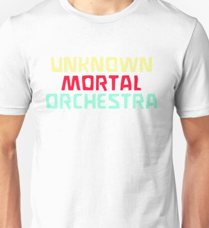 Unknown Mortal Orchestra Logo Unisex T-Shirt