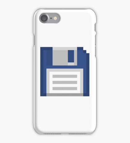 Pixel Floppy Disk iPhone Case/Skin