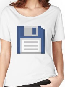 Pixel Floppy Disk Women's Relaxed Fit T-Shirt