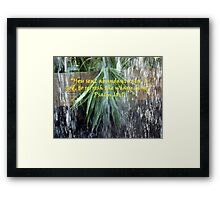 """Psalm 68:9""  by Carter L. Shepard Framed Print"