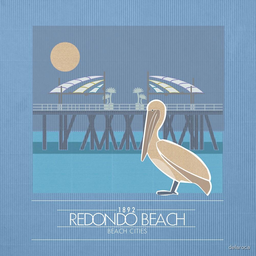 Beach Cities. Redondo Beach [Dark] by delaroca