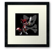 Chibi Foxy the Pirate Framed Print