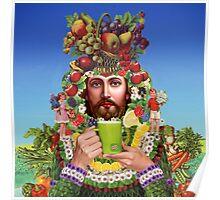 Herbal Jesus Poster