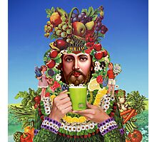 Herbal Jesus Photographic Print