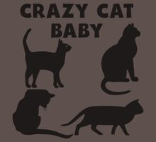 Crazy Cat Baby Kids Clothes