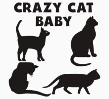 Crazy Cat Baby Kids Clothes