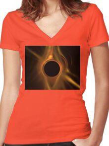 Aetna Women's Fitted V-Neck T-Shirt