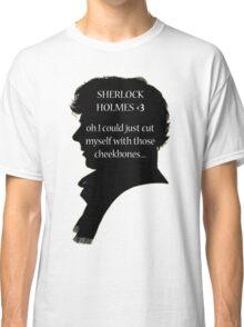 Sherlock's Cheekbones Classic T-Shirt