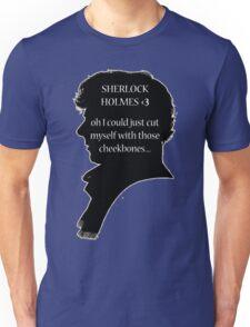 Sherlock's Cheekbones Unisex T-Shirt