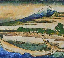 Japanese Fishing Boats at Tago Bay by hdamm