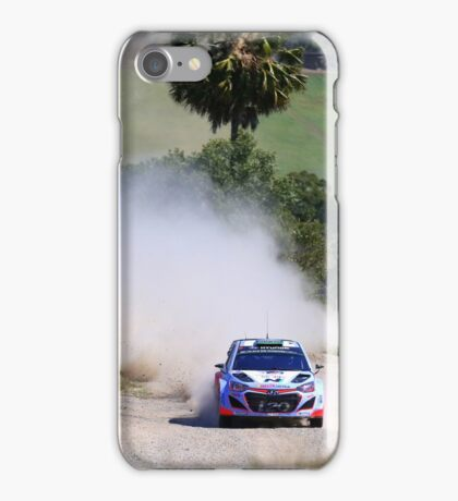 Hyundai World Rally iPhone Case/Skin