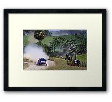 Hyundai World Rally Framed Print