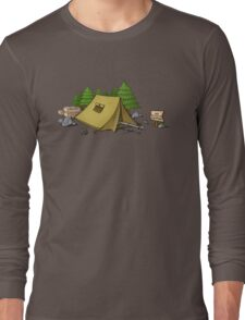no camping Long Sleeve T-Shirt