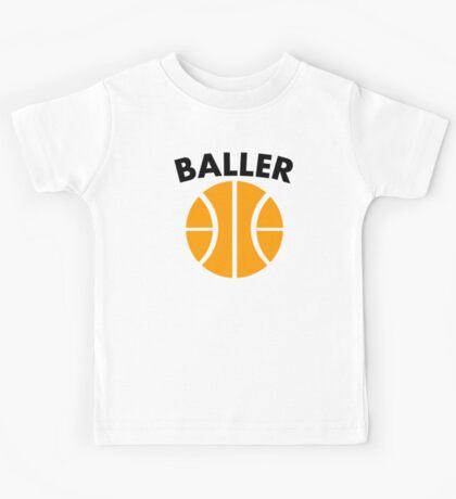 Baller Basketball Kids Tee