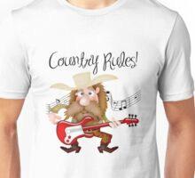 Country Rules! Unisex T-Shirt