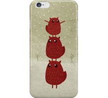 Stacked squirrel iPhone Case/Skin
