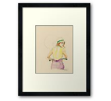 Miss. Cruiser Framed Print