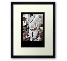 The bedroom of children Framed Print