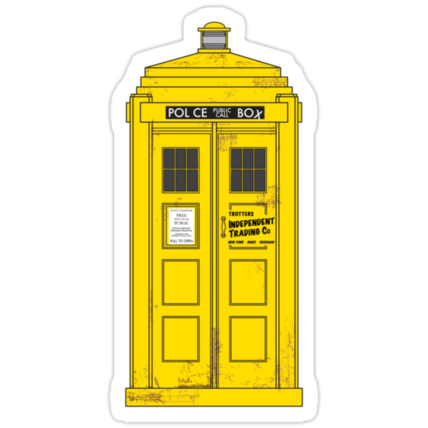 """""""The Trotters have the phonebox..."""" by SevenHundred"""