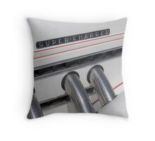 Super Charged Throw Pillow