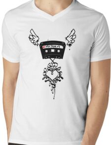 Mix Tape Mens V-Neck T-Shirt