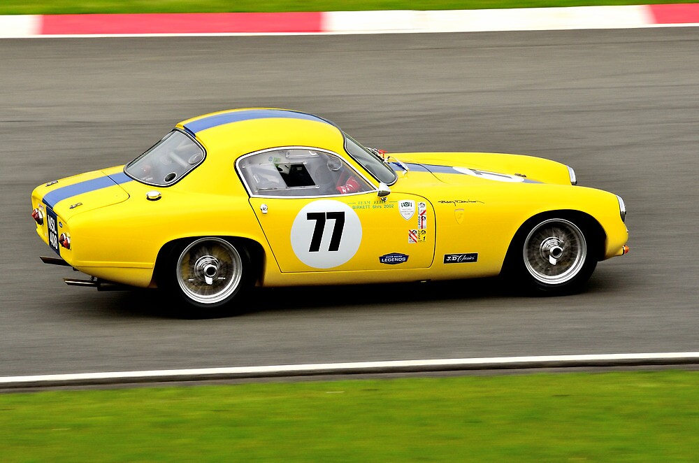 Lotus Elite No 77 by Willie Jackson
