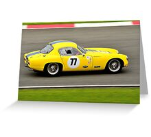 Lotus Elite No 77 Greeting Card