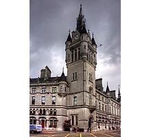 Aberdeen New Town House Photographic Print