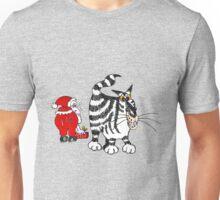 Santaclaws - Xmas mischief Unisex T-Shirt