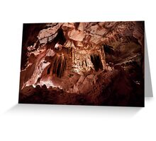 Enter a Gothic Palace – Lehman Caves Greeting Card