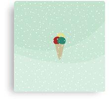 Ice cream dreams Canvas Print