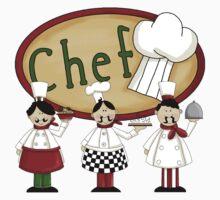 Italian Three Chefs by cowpie