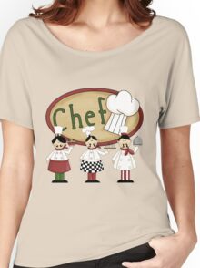 Italian Three Chefs Women's Relaxed Fit T-Shirt