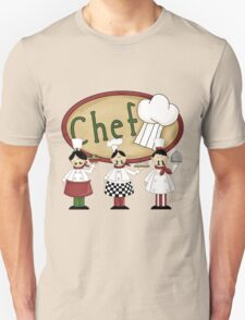 Italian Three Chefs T-Shirt