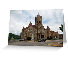 The Wetzel County Court House Greeting Card