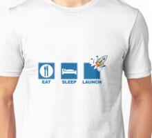 Eat Sleep Launch Unisex T-Shirt