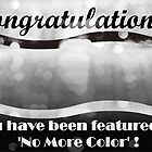 Congratulations! You have been featured in NO MORE COLOR! by halalidesigns