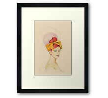 Bow SO Hapy Framed Print