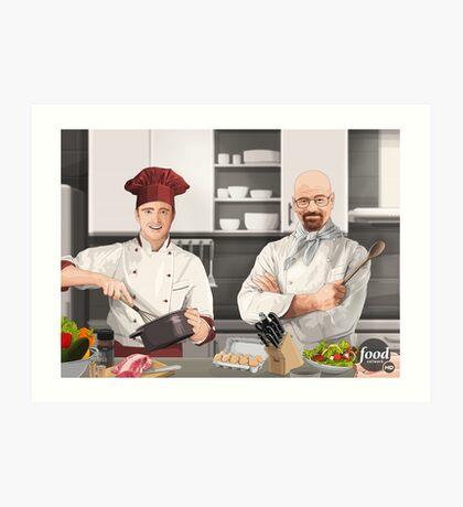 Cooking Bad Art Print