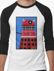 Dalek Sticker Men's Baseball ¾ T-Shirt