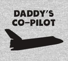 Daddy's Co-Pilot One Piece - Long Sleeve