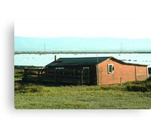 Old Barn Priceless View Canvas Print