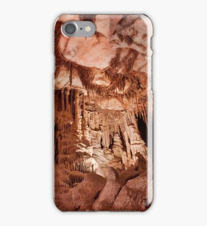Enter a Gothic Palace – Lehman Caves iPhone Case/Skin